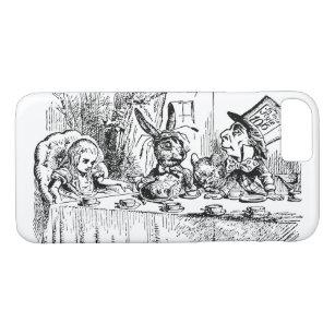 Vintage Alice in Wonderland, Tea Party Scene Case-Mate iPhone Case