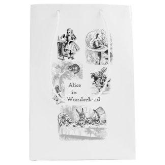 Vintage Alice in Wonderland Themed Gift Bag