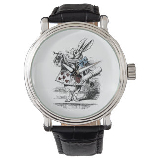 Vintage Alice in Wonderland White Rabbit Watch