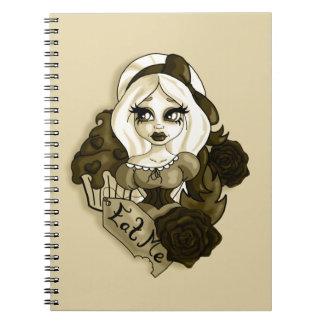 Vintage Alice Notebook