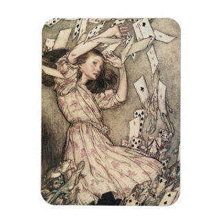 Vintage Alices Adventures in Wonderland by Rackham Rectangular Photo Magnet