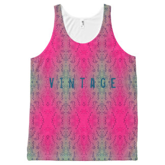 Vintage All-Over-Print Tank Top