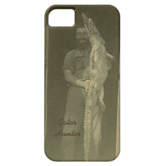 Vintage Alligator Hunt Photo c 1920s iPhone 5 Case