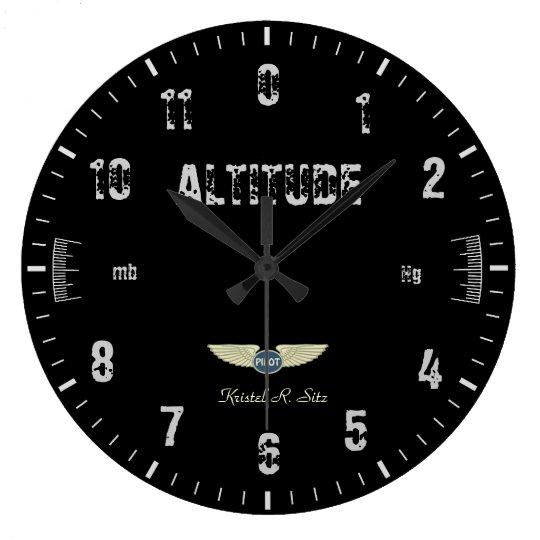 Vintage Altimeter Wall Clocks