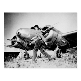 Vintage Amelia Earhart  Photo Postcard
