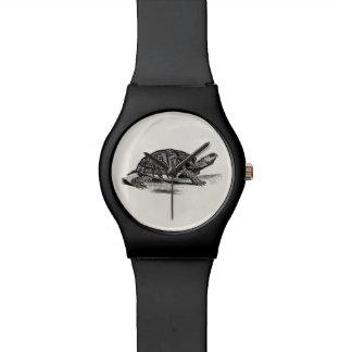 Vintage American Box Tortoise - Turtle Template Watch