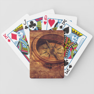 Vintage American Compass Bicycle Playing Cards