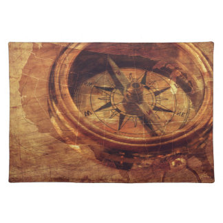 Vintage American Compass Placemat