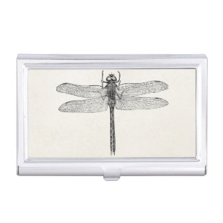 Vintage American Dragonfly Dragon Fly Template Business Card Holders