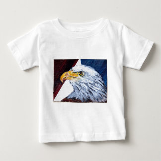 Vintage American Eagle Red White & Blue Baby T-Shirt