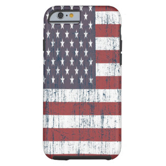 Vintage American Flag 6 Tough iPhone 6 Case