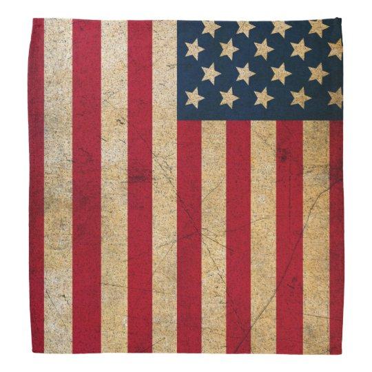 Vintage American Flag Bandana