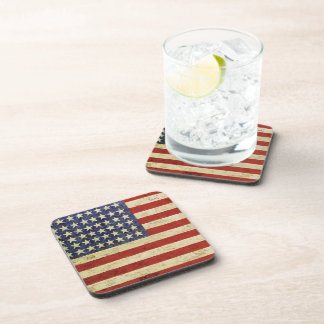 Vintage American Flag Cork Coaster