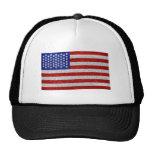 Vintage American Flag Hat
