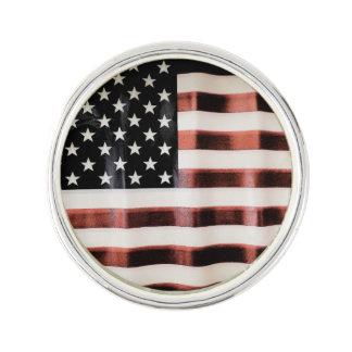 Vintage American Flag HFPHOT01 Lapel Pin