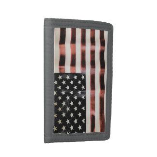 Vintage American flag HFPHOT01 wallet