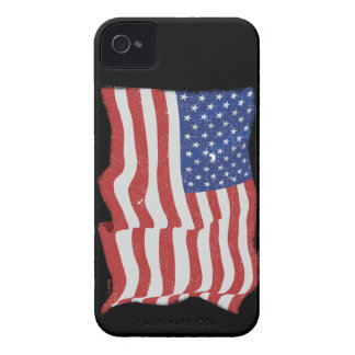 Vintage American Flag iphone 4 barely there iPhone 4 Case-Mate Cases