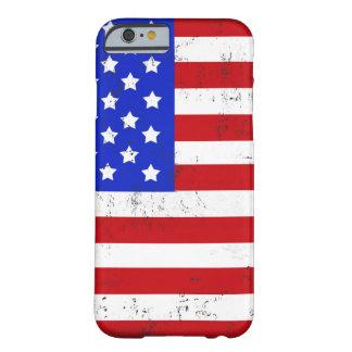 Vintage American Flag iPhone 6/6s Case
