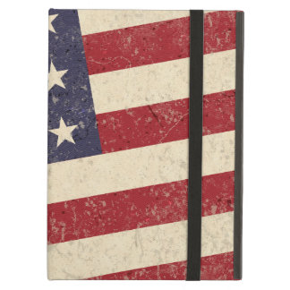 Vintage American Flag July 4th BBQ Faded Old Glory iPad Air Cover