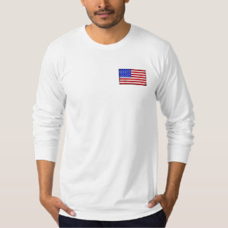 Vintage American Flag Men's Jersey Long Sleeve T-Shirt