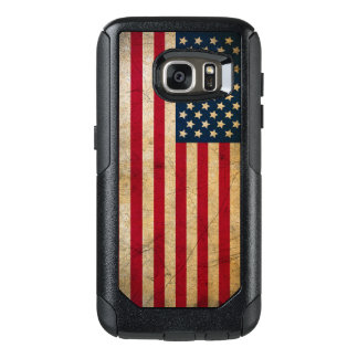 Vintage American Flag OtterBox Samsung Galaxy S7 Case
