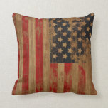 Vintage American Flag Pillows