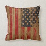Vintage American Flag Pillows