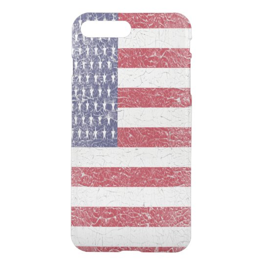 Vintage American Flag Uncommon iPhone7 Case