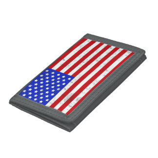 Vintage American Flag Wallet