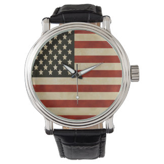 Vintage American Flag Watch
