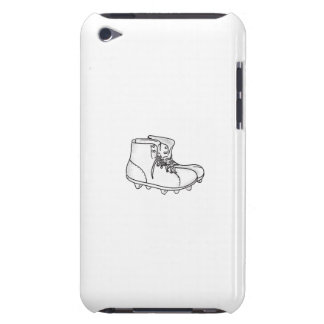 Vintage American Football Boots Drawing iPod Touch Case-Mate Case