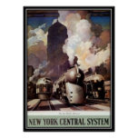 Vintage American Railway, USA - Print