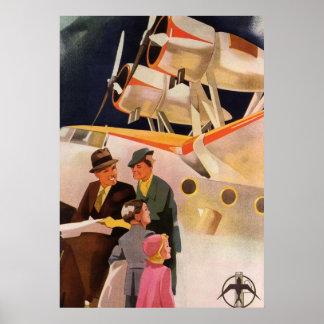 Vintage American Travel Poster