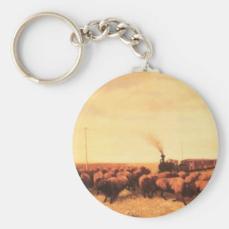 Vintage American West, Held Up by NH Trotter Keychain
