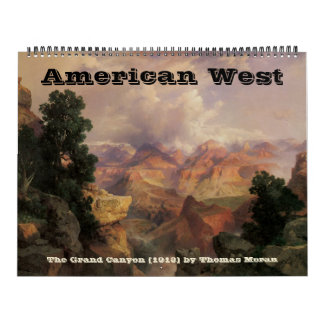 Vintage American West, Western Cowboys Wall Calendars
