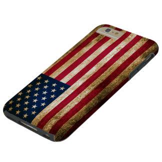 Vintage Americana Flag Tough iPhone 6 Plus Case