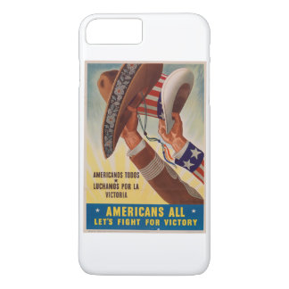 Vintage Americas USA and Mexico united iPhone 7 Plus Case