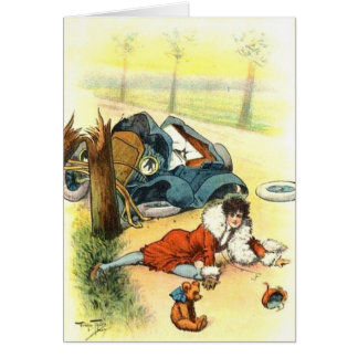 Vintage - An Unfortunate Accident, Card