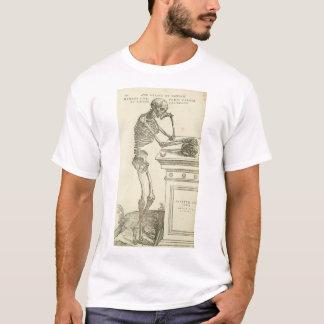 Vintage Anatomy Andreas Vesalius Skeleton T-Shirt