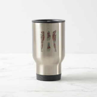 Vintage Anatomy of Human Legs and Feet Travel Mug