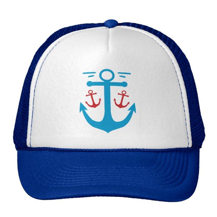 Vintage Anchor Trucker Hat