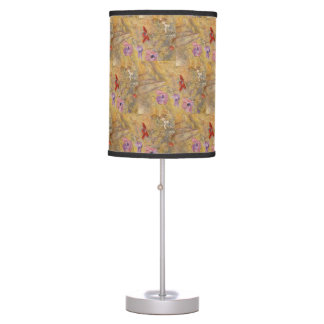 Vintage Anemones Henry Roderick Newman Table Lamp