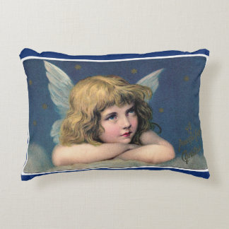 Vintage Angel Accent Pillow