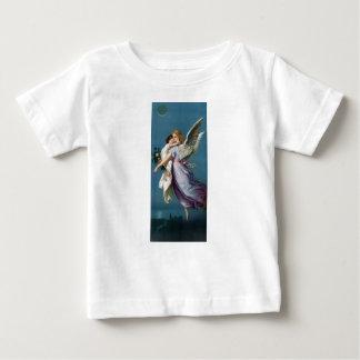 Vintage Angel And Child Illustration Baby T-Shirt