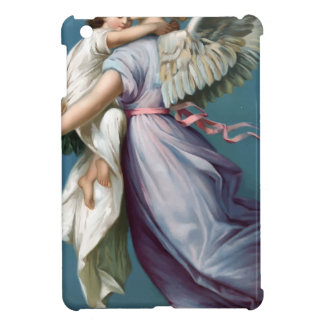 Vintage Angel And Child Illustration iPad Mini Case