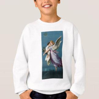 Vintage Angel And Child Illustration Sweatshirt