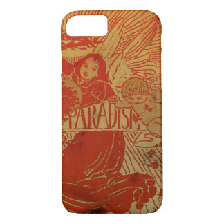 Vintage angel and cupid iphone 7 case