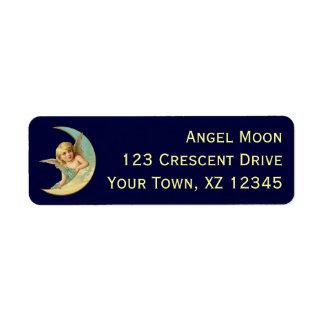 Vintage Angel in Moon