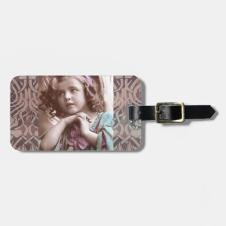 VIntage Angel Luggage Tag