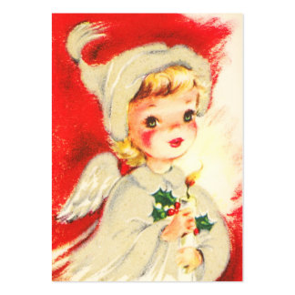 Vintage Angel Name Tags Business Cards